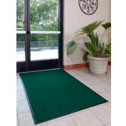 "WaterHog® Eco Elite Fashion Border Entrance Mat 3/8"" Thick 3' x Up To 60' Green"
