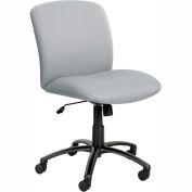 Big & Tall Mid Back Chair Gray