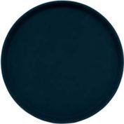 "Cambro 1550CT110 - Tray Camtread 15"" Round, Black - Pkg Qty 12"