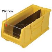 Quantum Clear Window WUS976 For Hulk Bins QUS976, QUS986, 16-1/2 x 29-7/8 x 15, Price Per Each