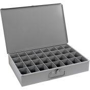 Durham Steel Scoop Compartment Box 107-95 - 32 Compartments 18 x 12 x 3 - Pkg Qty 4