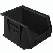 """Akro-Mils AkroBin® Plastic Stacking Bin 30239 - 8-1/4""""W x 10-3/4""""D x 7""""H, Black - Pkg Qty 6"""