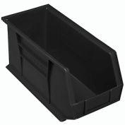 """Akro-Mils AkroBin® Plastic Stacking Bin 30265 - 8-1/4""""W x 18""""D x 9""""H, Black - Pkg Qty 6"""
