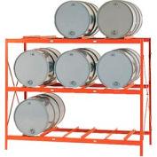 Modern Equipment MECO DR9 Drum Storage Rack - 9 Drum Storage