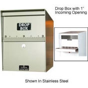 "Jayco LL1STD-DRP2 Standard Drop Box Locker 2"" Incoming Slot No Envelope Slot Black"