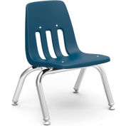Virco® 9010 Classic Series™ Classroom Chair - Navy Vented Back - Pkg Qty 4