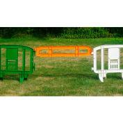 Xtendit® Plastic Extentsion For MOVIT® Barricade, Orange - Pkg Qty 2