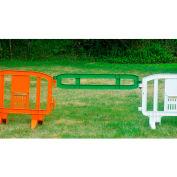 Xtendit® Plastic Extentsion For MOVIT® Barricade, Green - Pkg Qty 2
