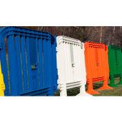 MOVIT® Plastic Barricade, Interlocking, Blue