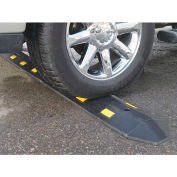 """Speed Bump Recycled Rubber Concrete Installation 36""""L x 10-1/2""""W x 2""""H"""