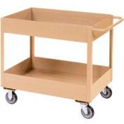 "Jamco Putty All Welded 3"" Deep Shelf Cart LT236 2400 Lb. Cap. 36x24"