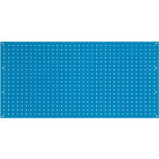 Global Industrial™ Steel Pegboard Panel 36 x 19 - Blue