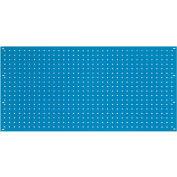 "Global Industrial™ Steel Pegboard Panel, 36""W, Blue"