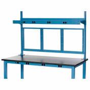 """72"""" Panel Mounting Kit-Blue"""