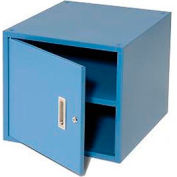 "Storage Cabinet for 36""W Bench - Blue"