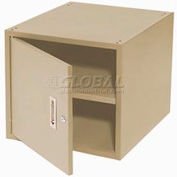 "Storage Cabinet for 36"" Bench-Tan"