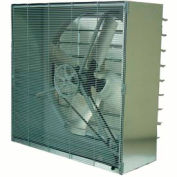 TPI 36 Cabinet Exhaust Fan With Shutters CBT-36B 1/2 HP 9870 CFM 1 PH