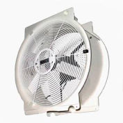 "Vostermans 16"" Mobile Indoor Outdoor Greenhouse Fan T4E4005M81100 1/3 HP 3,294 CFM"