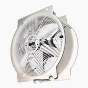 """Multifan 20"""" Mobile Indoor Outdoor Greenhouse Fan T4E50K2M81100 1/3 HP 4,765 CFM"""