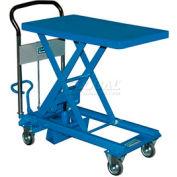 Southworth Dandy Lift L-150 Mobile Scissor Lift Table 330 Lb. Capacity