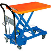 Southworth Dandy Lift L-250 Mobile Scissor Lift Table 550 Lb. Capacity