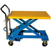 Southworth Dandy Lift A-500 Mobile Scissor Lift Table 1100 Lb. Capacity