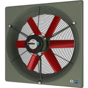"""Panel Fan 10"""" Diameter Single Phase 120v With Grill"""