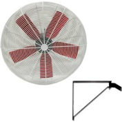 "Vostermans 30"" Wall Mount Basket Fan 245776 1/2 HP 10000 CFM"