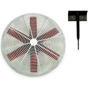 "Vostermans 20"" Ceiling Mount Basket Fan 245782 1/3 HP 5500 CFM"