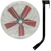 """Vostermans 30"""" Ceiling Mount Basket Fan 245784 1/2 HP 10000 CFM"""