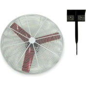 "Vostermans 24"" Ceiling Mount Basket Fan 245786 1/3 HP 8000 CFM"
