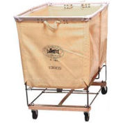 Dandux White Canvas Elevated Basket Bulk Truck 400130C03 3 Bushel Capacity