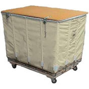 Dandux White Canvas Shipping Hamper Truck 400200216-4S 16 Bushel Capacity