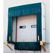 "Vestil Rigid Dock Door Shelter D-750-18 10'W x 10'H with 18"" Projection"