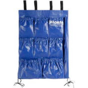 "9 Pocket Utility Bag for Recycling 1 Cu. Yd. Tilt Trucks 19"" W x 27"" H"
