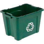 Rubbermaid Recycling Box - 14 Gallon Green