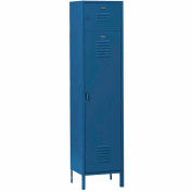 Penco 6436V806 Vanguard Box Over Locker 15x15x72 Ready To Assemble Marine Blue