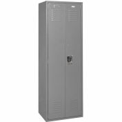 Penco 6MTJ173028 Vanguard Executive Locker 24x18x72 No Legs Ready To Assemble Gray