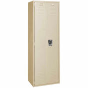 Penco 6MTJ170073 Vanguard Executive Locker 24x18x72 No Legs Assembled Champagne