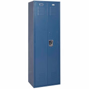 Penco 6MTJ170806 Vanguard Executive Locker 24x18x72 No Legs Assembled Marine Blue