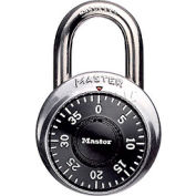 "Master Lock® No. 1502 Combination Padlock 3/4"" Shackle - Pkg Qty 5"