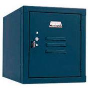 Penco 6179V806 Vanguard One High Box Locker 12x18x13-5/8 Unassembled Marine Blue