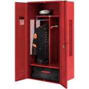 Penco 6KGDA10722 Patriot Gear Locker 30x24x72 Ready To Assemble Patriot Red