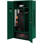 Penco 6KGDA20812 Patriot Gear Locker 36x24x72 Ready To Assemble Hunter Green