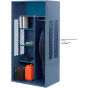 Penco 6KTDA00806 Patriot Turnout Locker 24x24x72 Ready To Assemble Marine Blue
