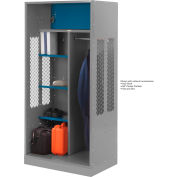 Penco 6WTDA30C028 Patriot Turnout Welded Locker 42x24x76 Gray