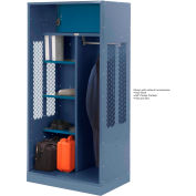 Penco 6WTDA30C806 Patriot Turnout Welded Locker 42x24x76 Marine Blue