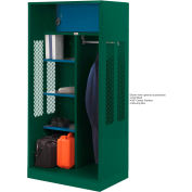 Penco 6WTDA30C812 Patriot Turnout Welded Locker 42x24x76 Hunter Green