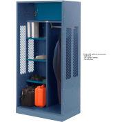 Penco 6WTDA40C806 Patriot Turnout Welded Locker 48x24x76 Marine Blue