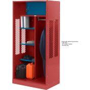 Penco 6WTDA40C722 Patriot Turnout Welded Locker 48x24x76 Patriot Red